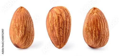 Photo Almond isolated