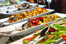 Healthy Food And Salad Bar Sel...
