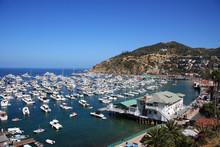 Die Avalon Bay.  Santa Catalina Island. Kalifornien.