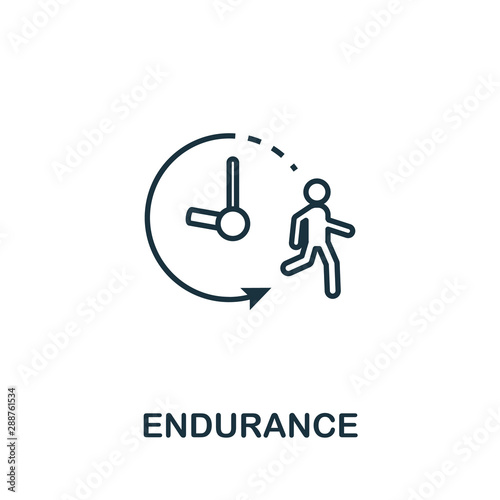 Endurance icon Fototapet