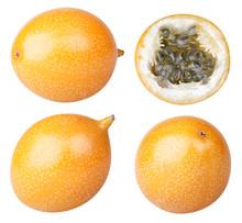 Collection Of Granadilla Fruit...