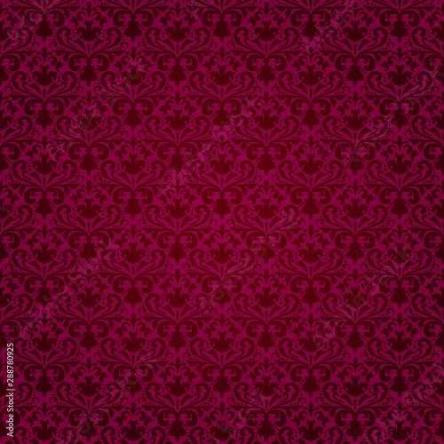 vector seamless purple background in retro style