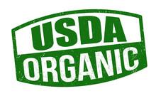 Usda Organic Sign Or Stamp