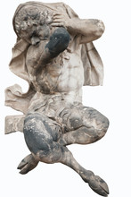 Antique Statue Isolated On Whi...