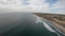 Cardiff Beach In Encinitas Cal...