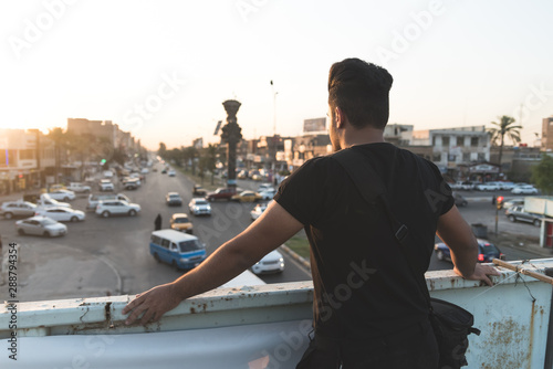 Baghdad, Iraq – July 08, 2019: Tablou Canvas