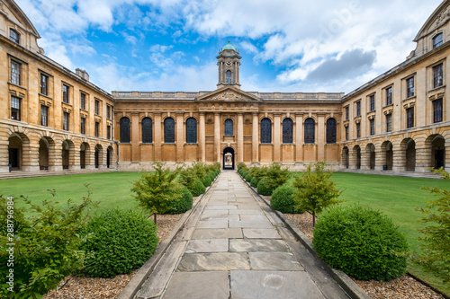 Cadres-photo bureau Nature The Queen's College at the University of Oxford