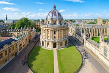 The City Of Oxford With The Ra...