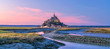 canvas print picture - Mont Saint-Michel in France