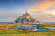 Mont Saint-Michel In France