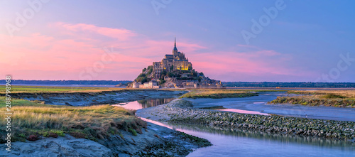 Canvas Print Mont Saint-Michel in France
