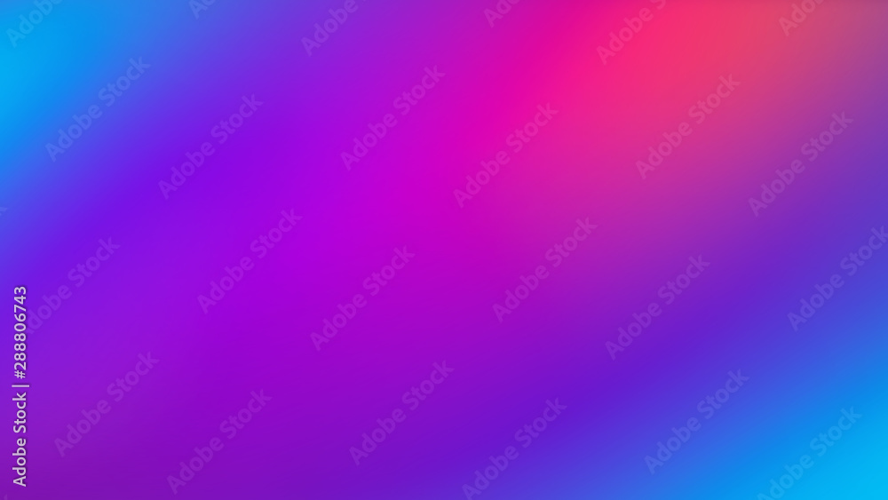 Fototapeta Ultra Violet Colorful Gradient Blurred Motion Abstract Technology Background, Horizontal, Widescreen