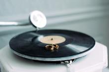 Wedding Rings On The Gramophon...