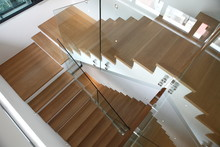 Interior Of Modern Wood Staircase