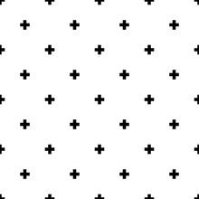 Plus Seamless Pattern Background