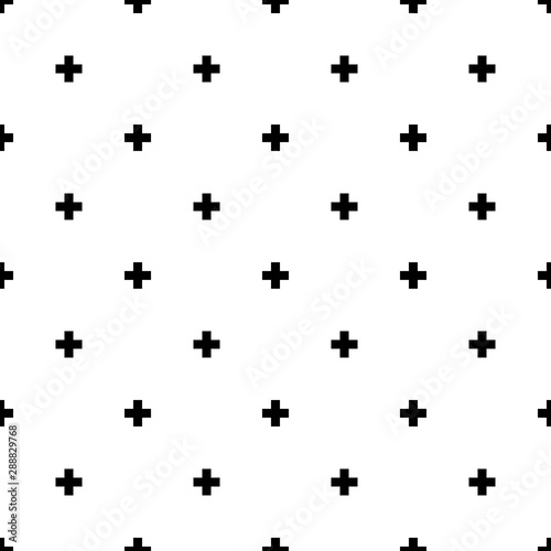 plus seamless pattern background Wallpaper Mural