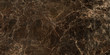 canvas print picture - Dark color marble texture, emperador marble surface background.Brown marble background