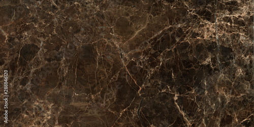 Photo  Dark color marble texture, emperador marble surface background