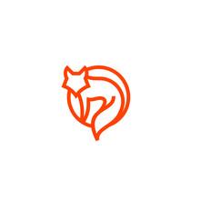 Fox Line Logo Icon Designs Vector