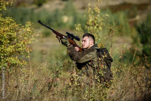 Fotografie, Tablou Hunting equipment for professionals