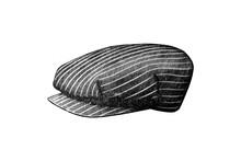 Illustration Of Vintage 1920s Hat