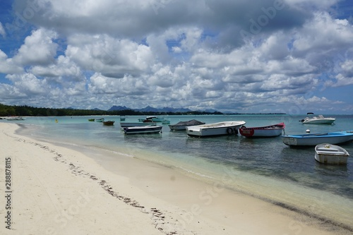 Canvas Prints Inspirational message Strand auf mauritius