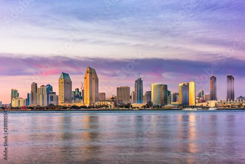San Diego, California, USA Cityscape Fototapet