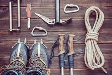 Climbing Equipment: Rope, Trek...