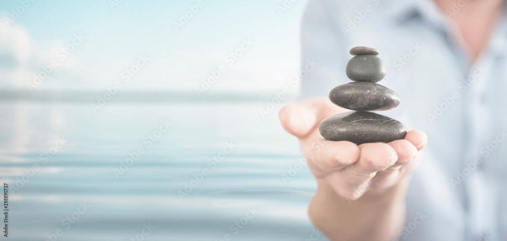 Fototapeta Keep Balance - Zen Spa Spirituality