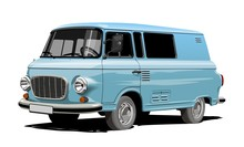 Vector Retro Van