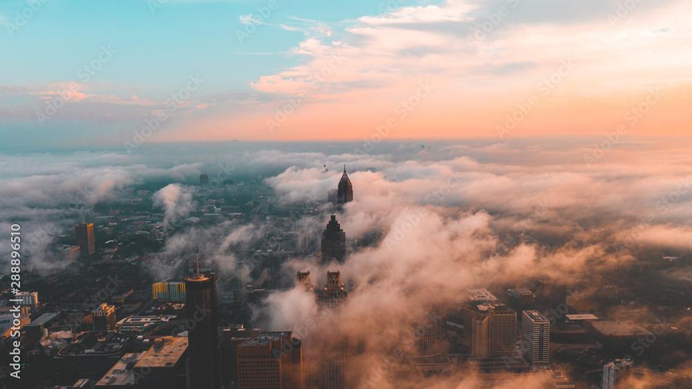 Fototapety, obrazy: Atlanta Skyline