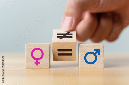Fotografía  Concepts of gender equality