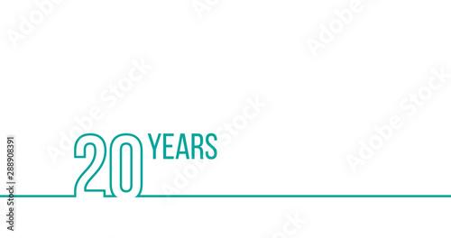Tela  20 years anniversary or birthday