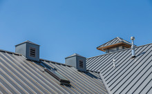 Ribbed Metal Roof And Cupolas ...