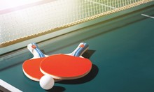 Table Tennis Rackets And Ball ...
