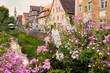 Schabacher Altstadt - Blumenschmuck in der Bachgasse