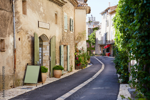Old French village in Provence, France Wallpaper Mural