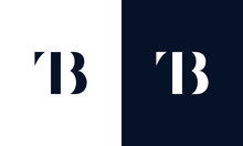 Abstract Letter TB Logo. This ...