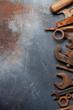 canvas print picture Vintage tools