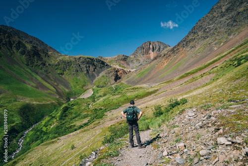 Spoed Fotobehang Alpinisme Alaska
