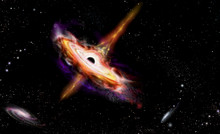 Quasars Galaxies In Space