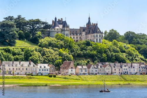 Staande foto Oude gebouw Chaumont-sur-Loire castle in Loire valley, France