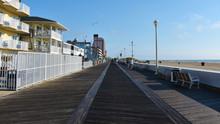 Ocean City Boardwalk, Maryland, USA