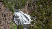 Gibbon Falls, Yellowstone Nati...