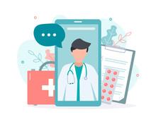 Online Doctor Consultation Via...