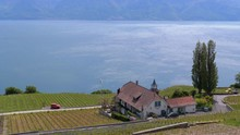 Landscape View Of Montreux Cit...