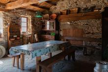 Cocina De Casa Rural Antigua