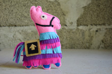 Pink Lama. Toy From Felt With ...