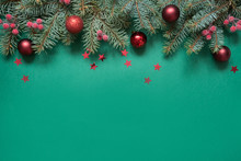 Christmas Tree Branches, Red G...
