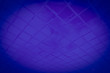 Leinwanddruck Bild - Beautiful closeup textures abstract color dark blue and purple tiles granite and blue glass pattern wall and background and art